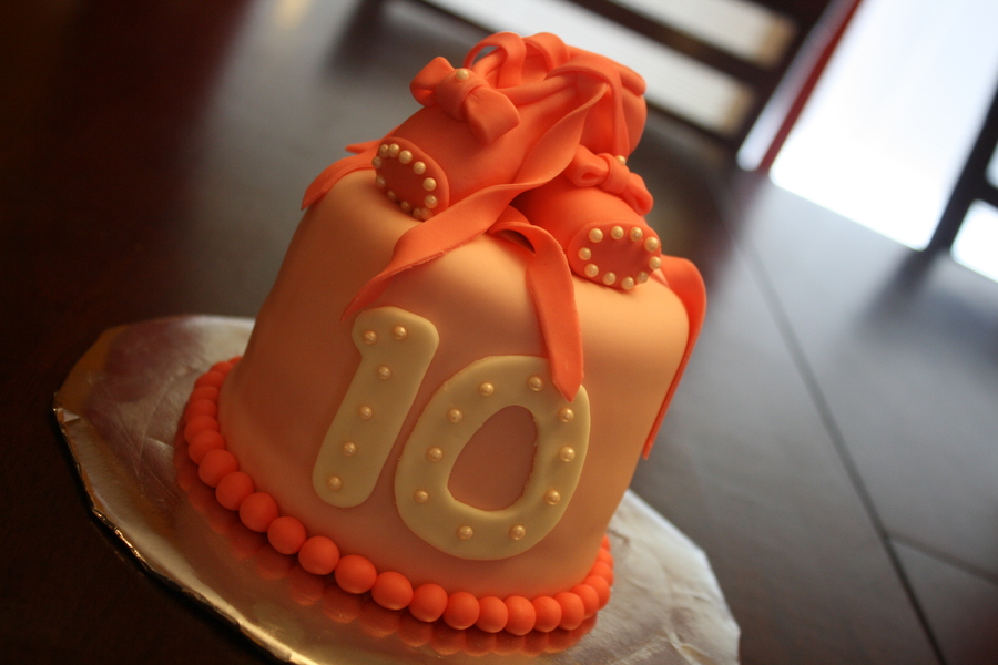 Ballet 10th Birthday Cake Cakecentral