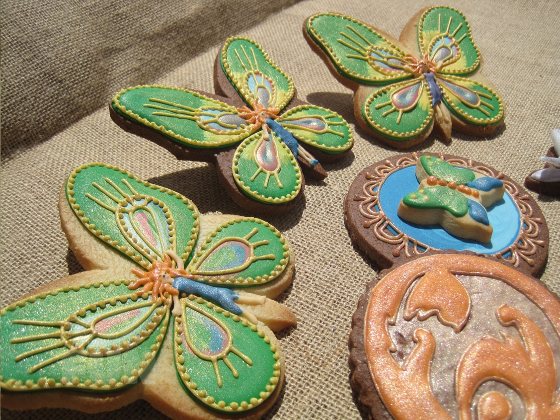 butterfly fairies 3d cookies cakecentral com