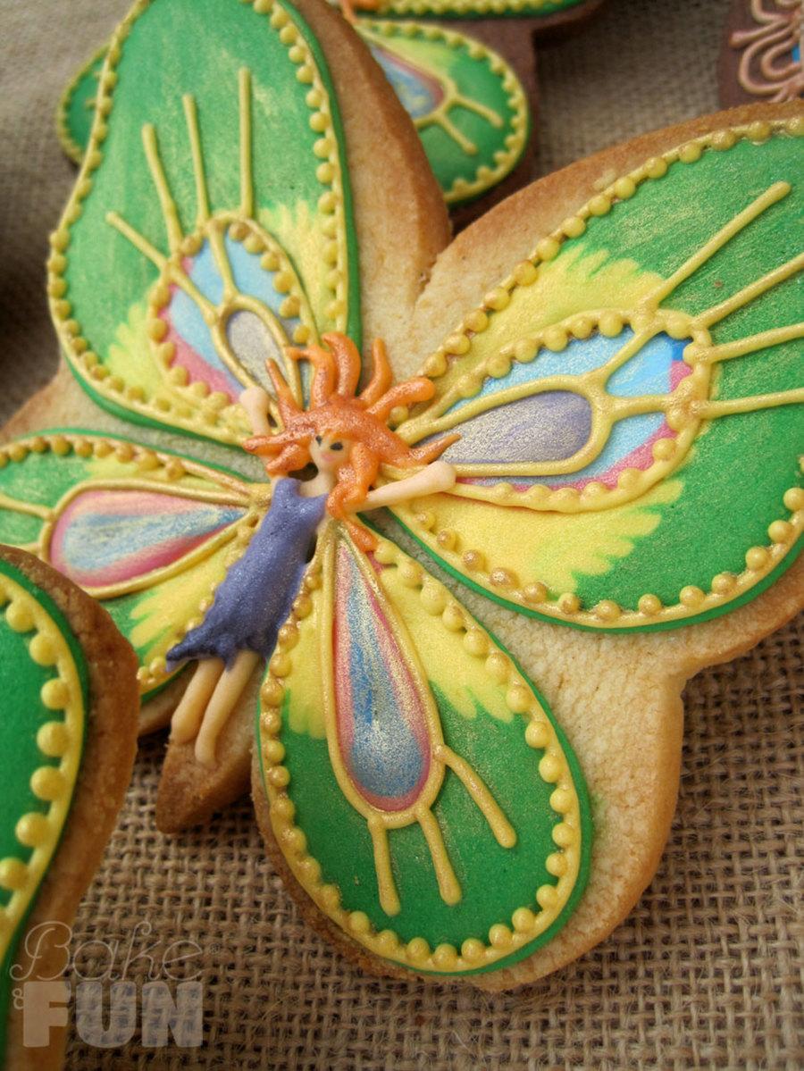 butterfly fairies - 3d-cookies
