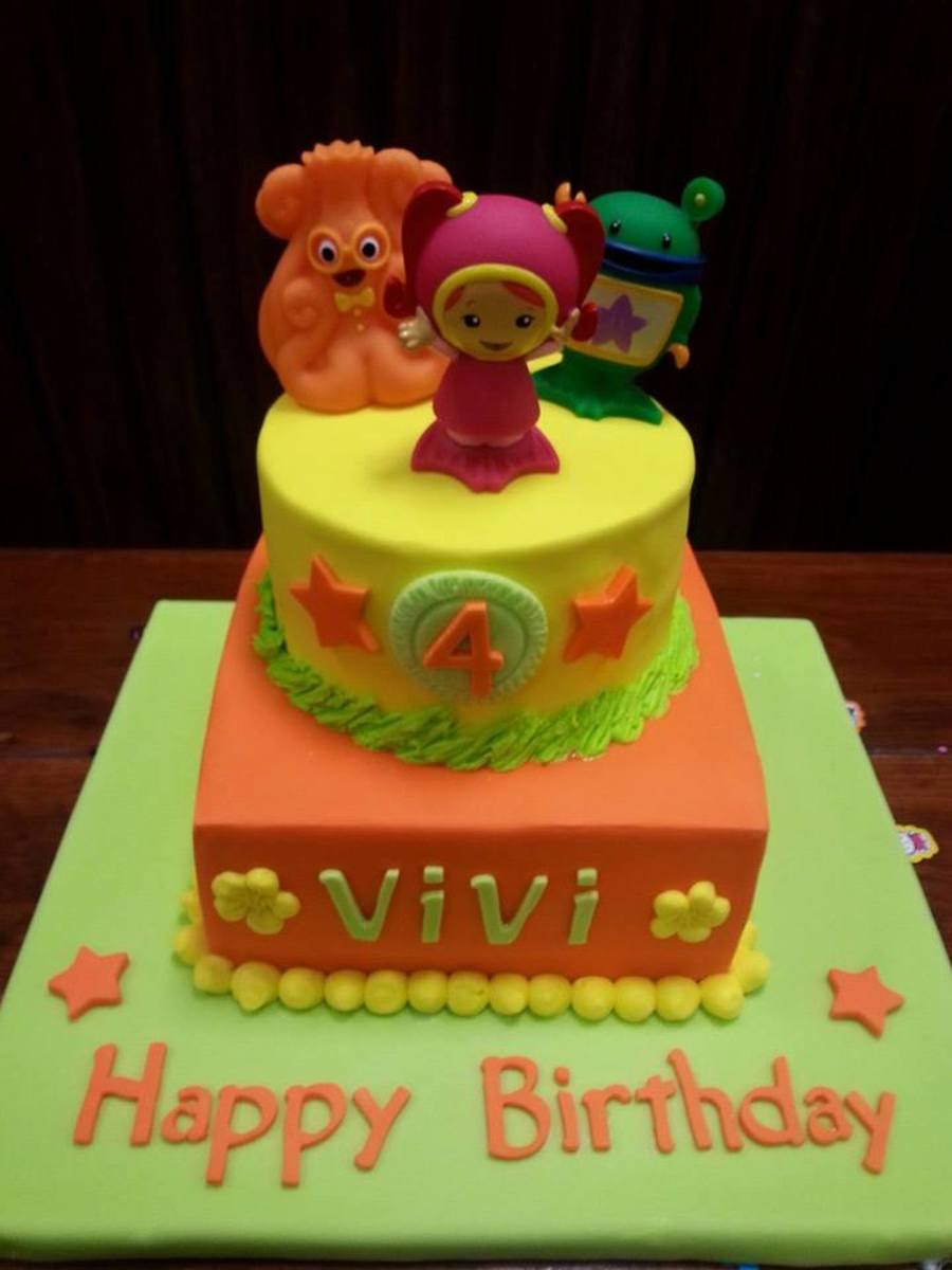 Super Team Umizoomi Birthday Cake Cakecentral Com Personalised Birthday Cards Arneslily Jamesorg