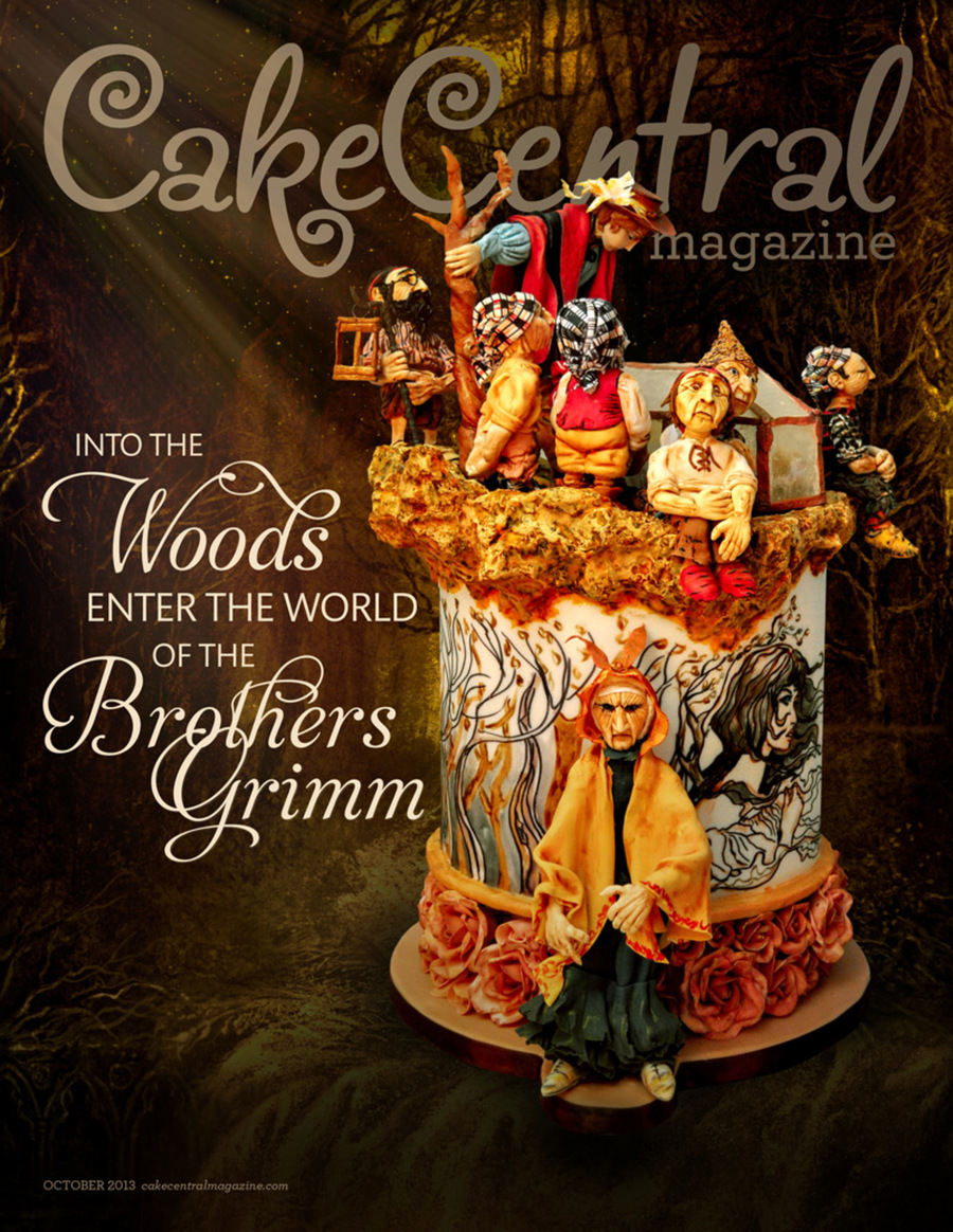 800 Cakecentral Magazine Vol4 Iss10 Cover Web on Cake Central
