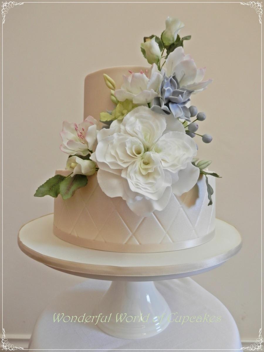 Chocolate Fondant Wedding Cake Recipe