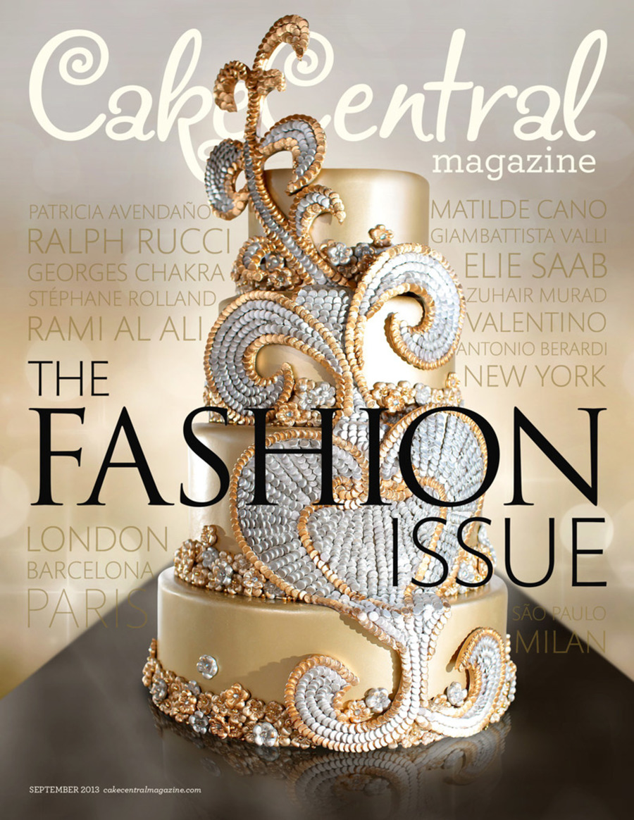 Cakecentral Magazine Vol4 Iss9 Cover Web on Cake Central