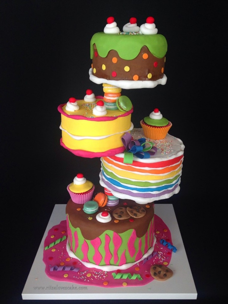 Spectacular Birthday Cakes
