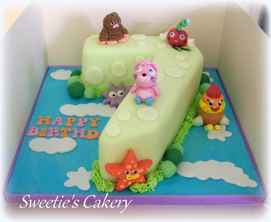 Wondrous Moshi Monster Birthday Cakes Cakecentral Com Funny Birthday Cards Online Inifodamsfinfo