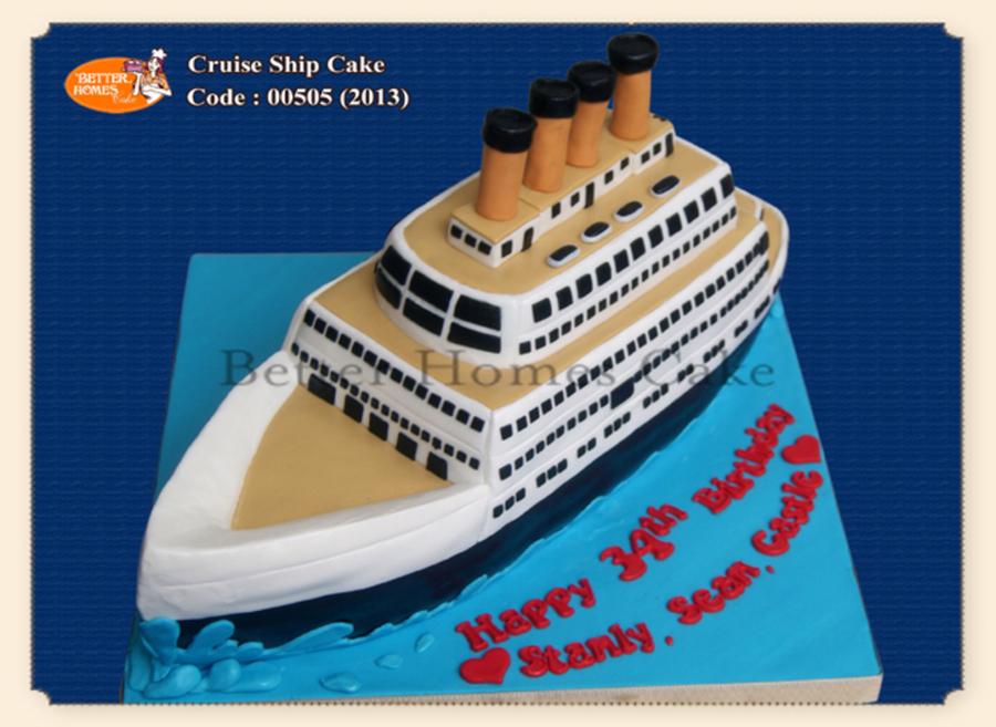Cruise Ship Cake CakeCentralcom - Cruise ship cake