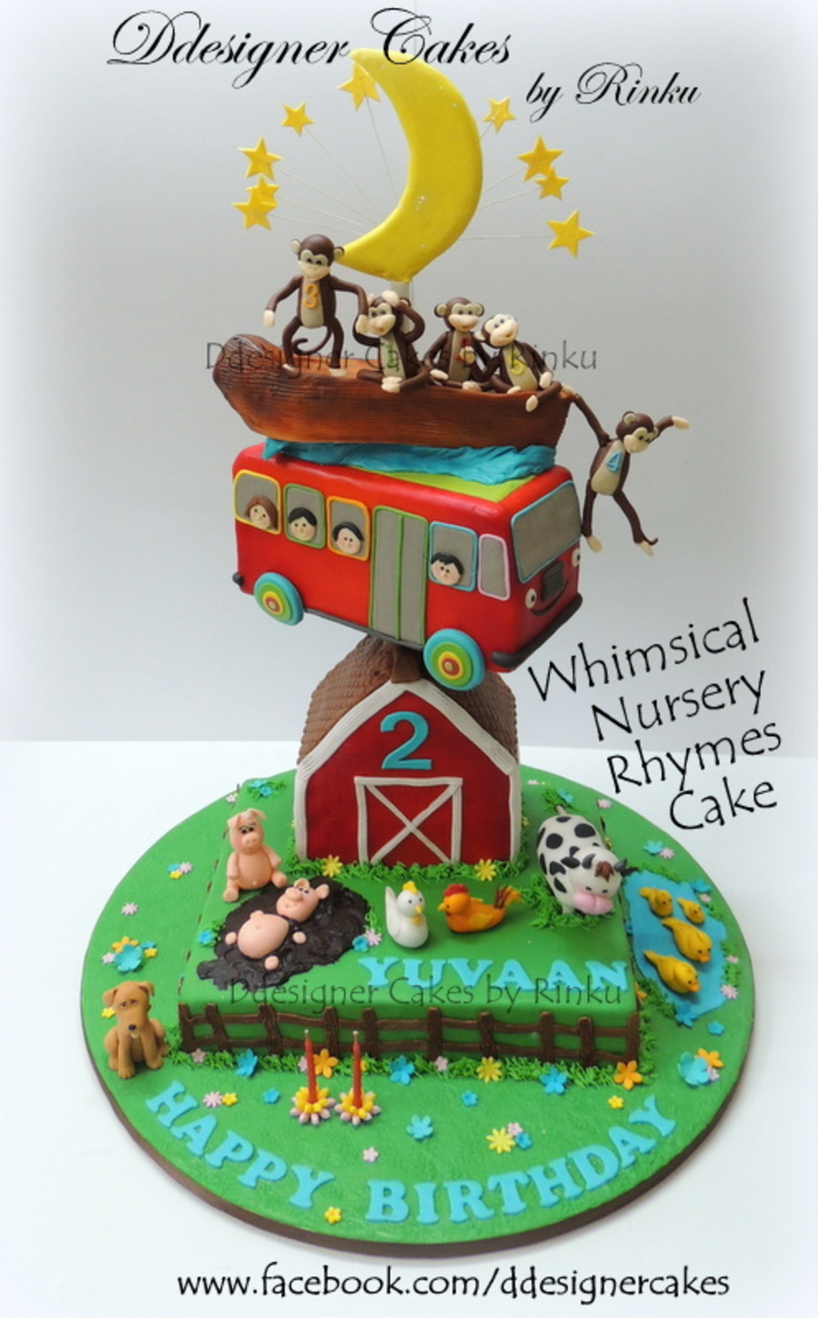 Whimsical Nursery Rhymes Cake on Cake Central