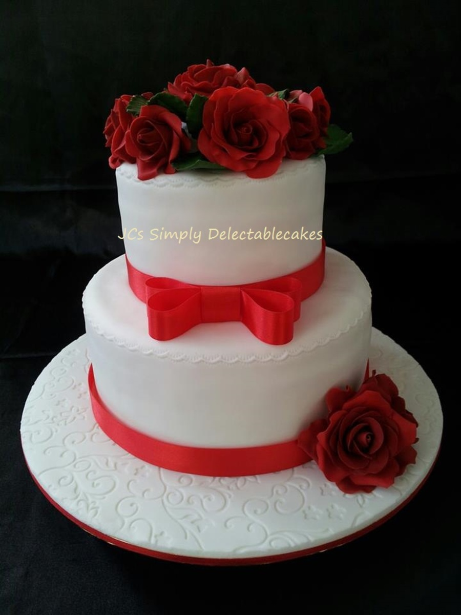 When East Meets Westshe From Malaysia And He From Denmark Both Worked In China Met And Fell In Love This Is The Cake That Marks on Cake Central