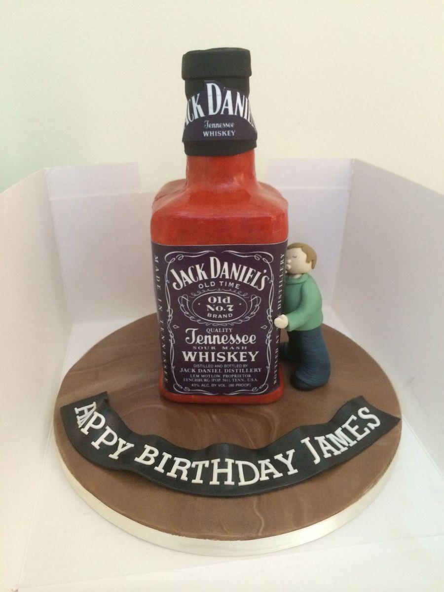 Jack Daniels Bottle Cake Cakecentral Com