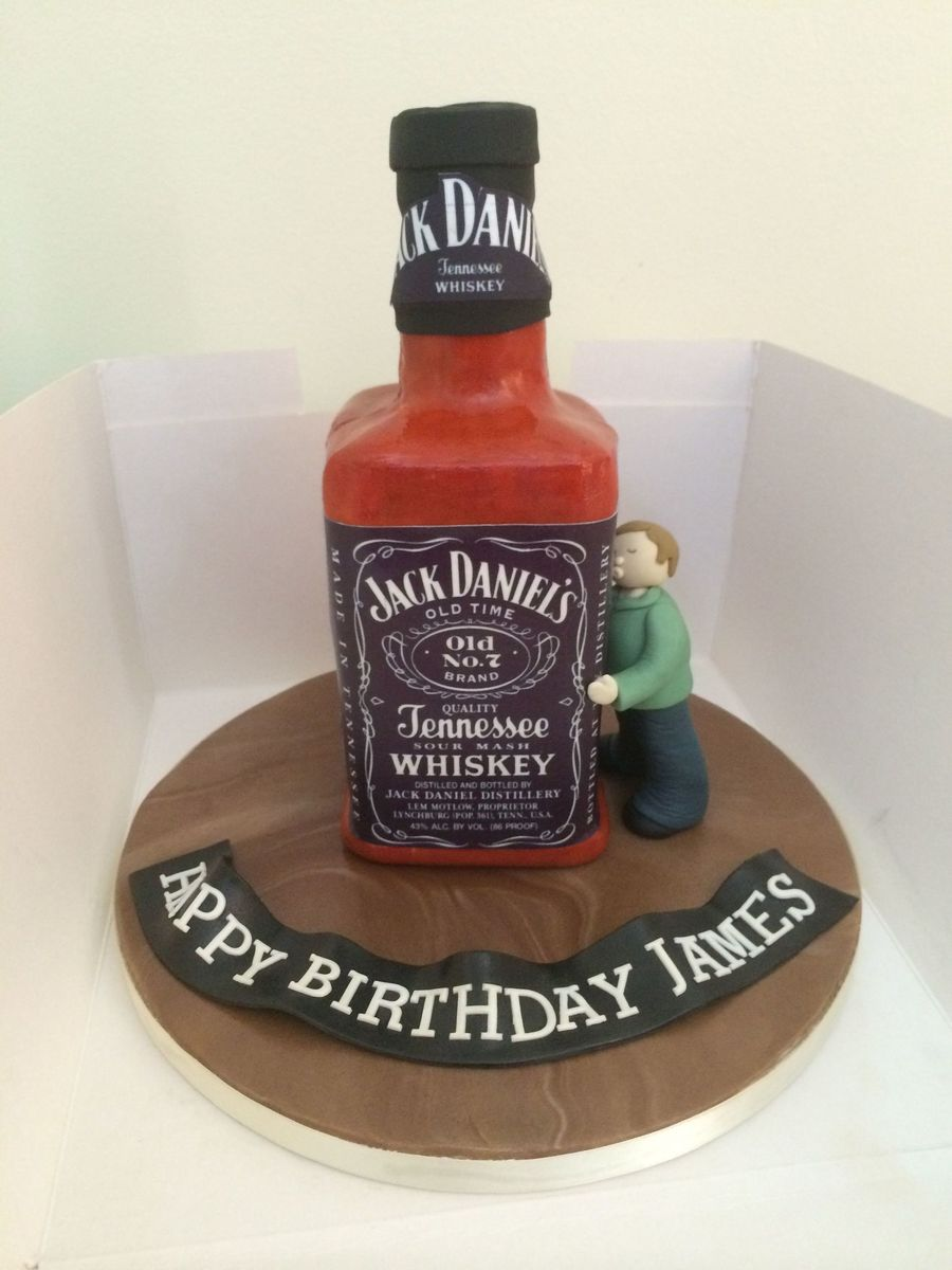 Jd Bottle Cake