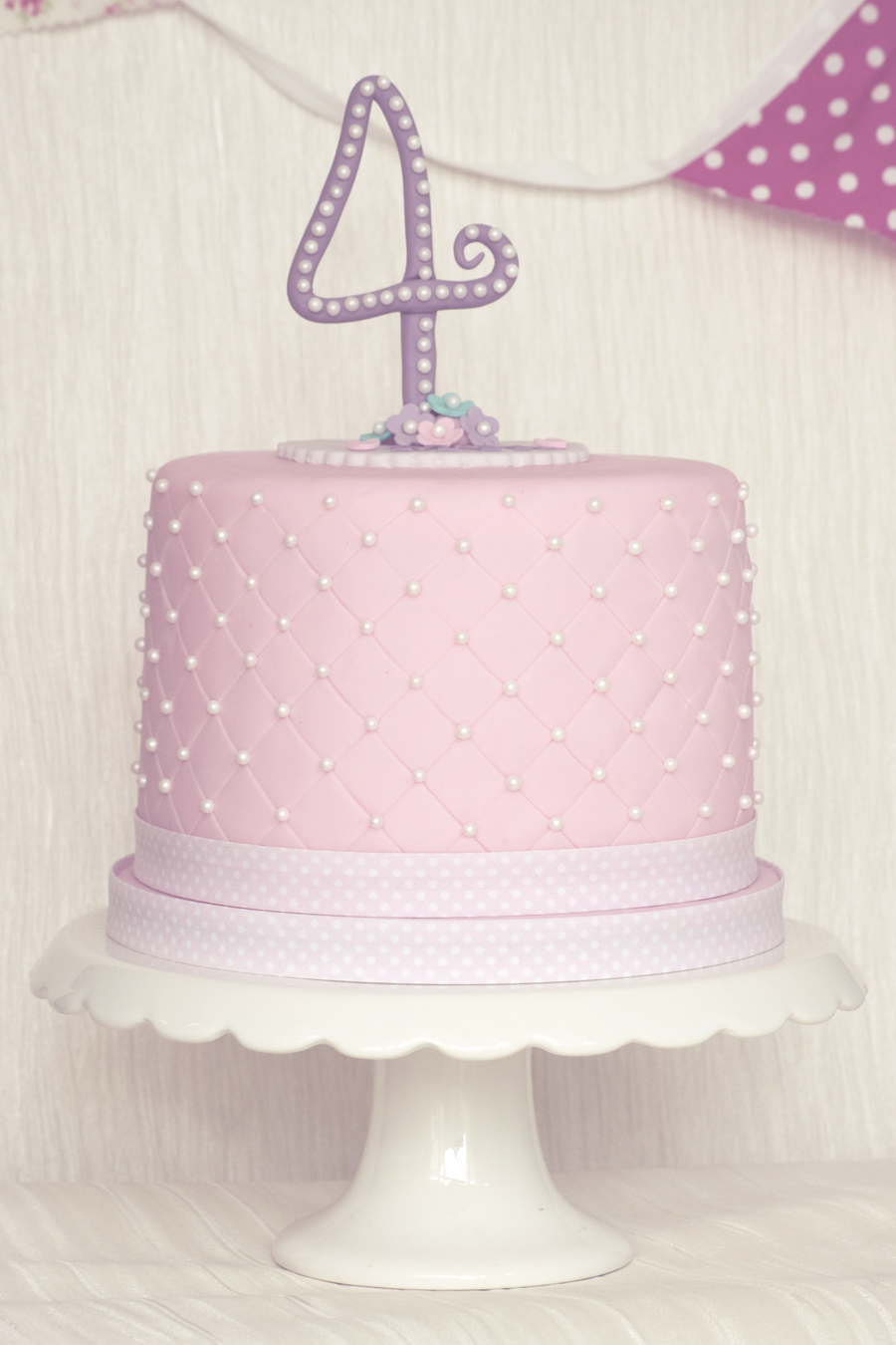 Brilliant 4Th Birthday Cake Girl Cakecentral Com Birthday Cards Printable Benkemecafe Filternl
