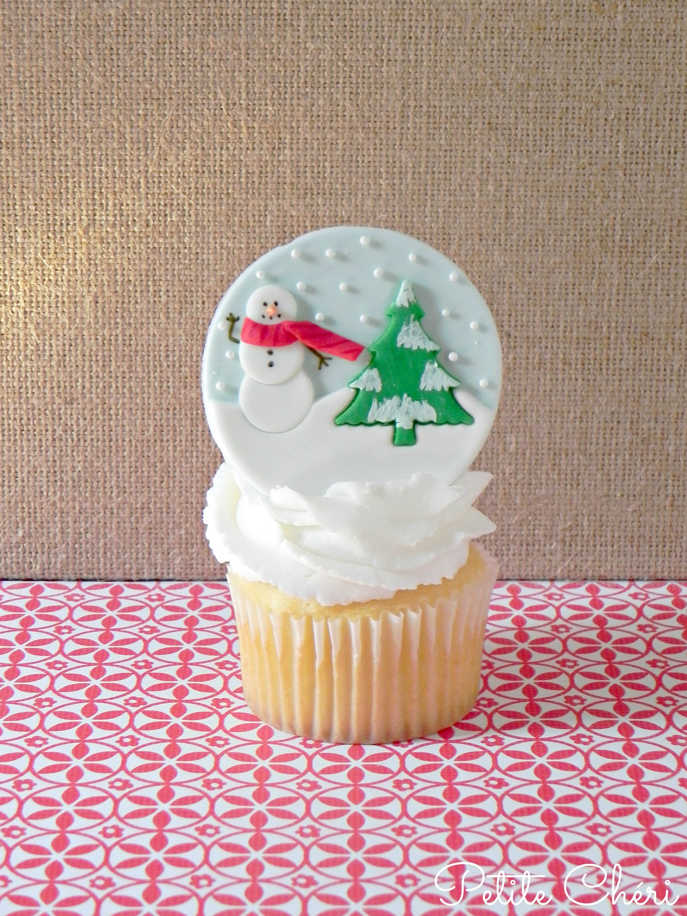 Christmas Winter Cupcake Toppers Cakecentral Com