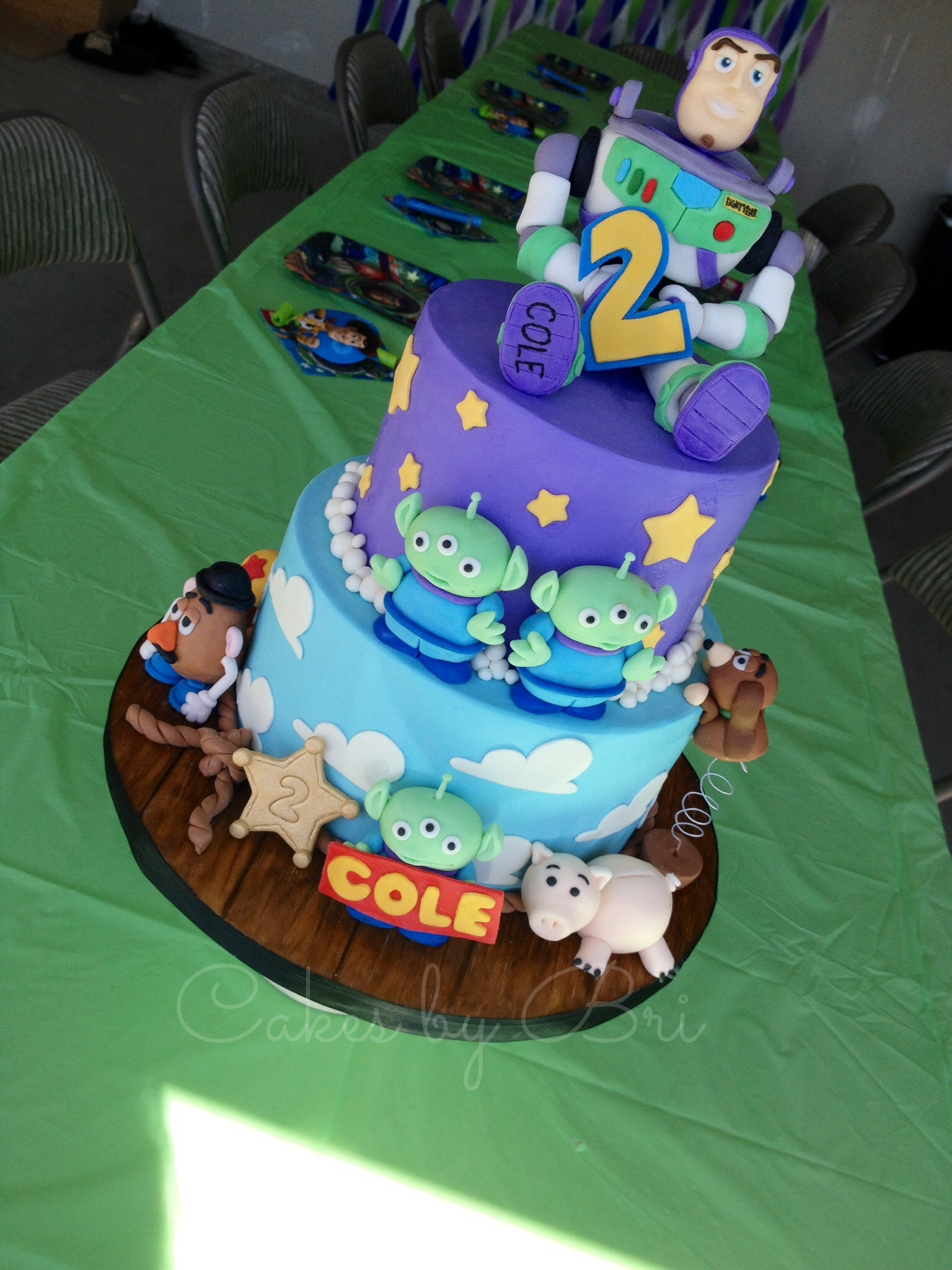 Cake Decorating Figures : Toy Story Cake Or My Sons 2Nd Birthday Marks My One Year ...
