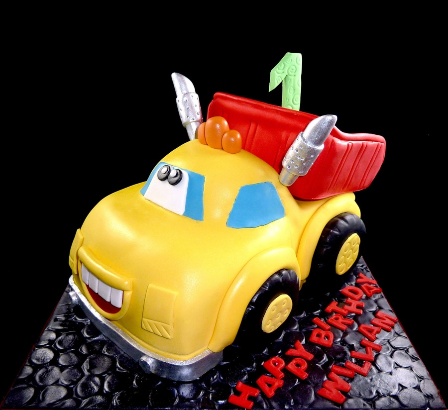 Tonka Truck 1St Birthdayjpg on Cake Central