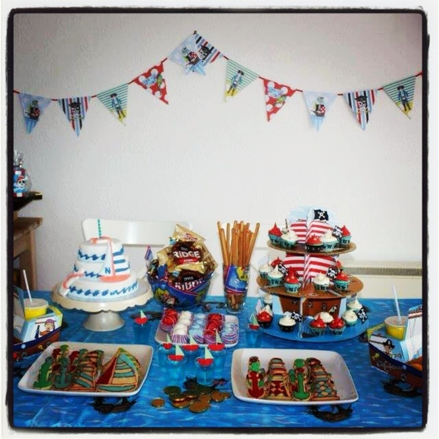 1St Birthday Pirates Ahoy! on Cake Central