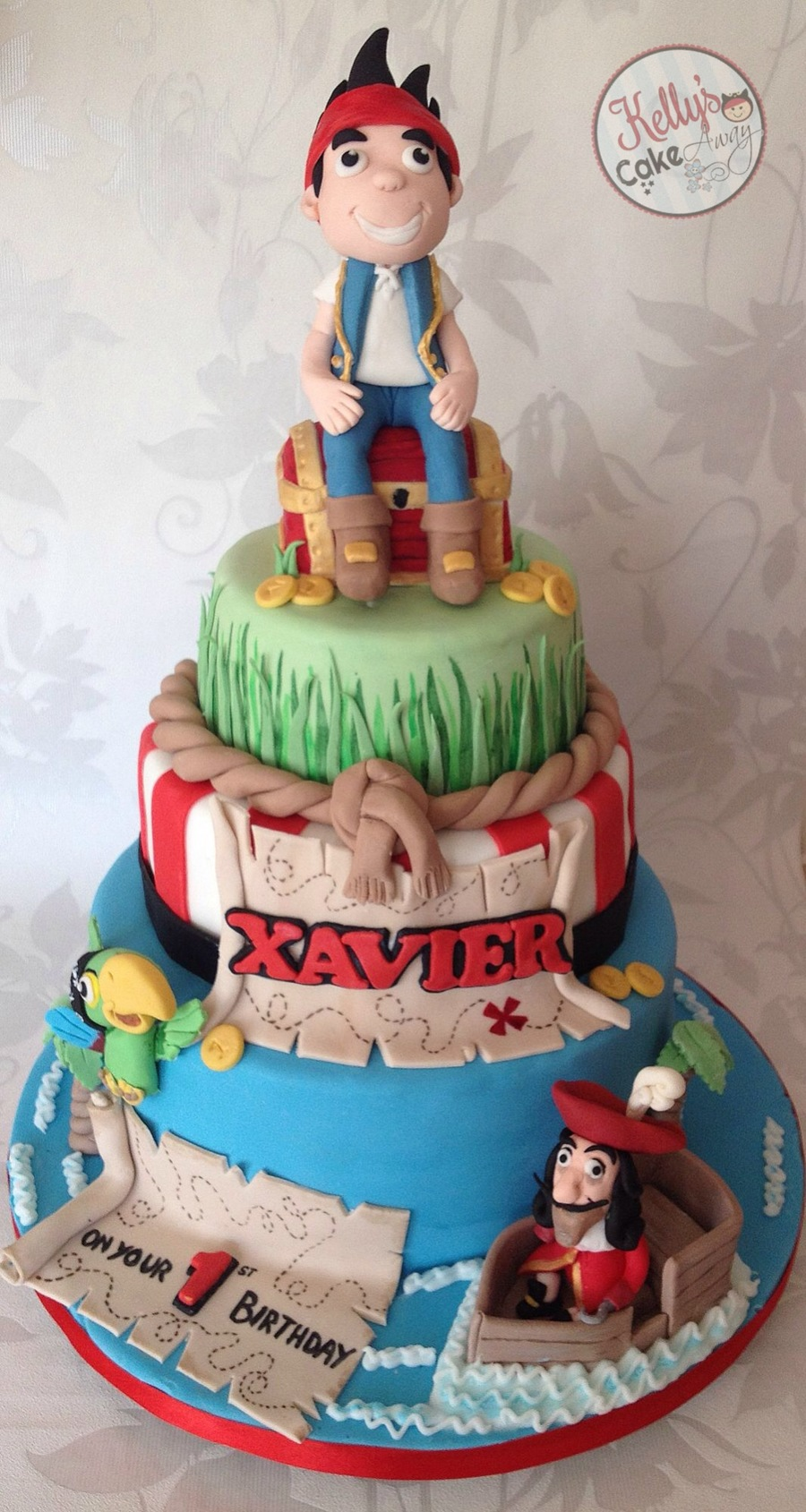 Jake And The Neverland Pirates All Handmade And Edible on Cake Central
