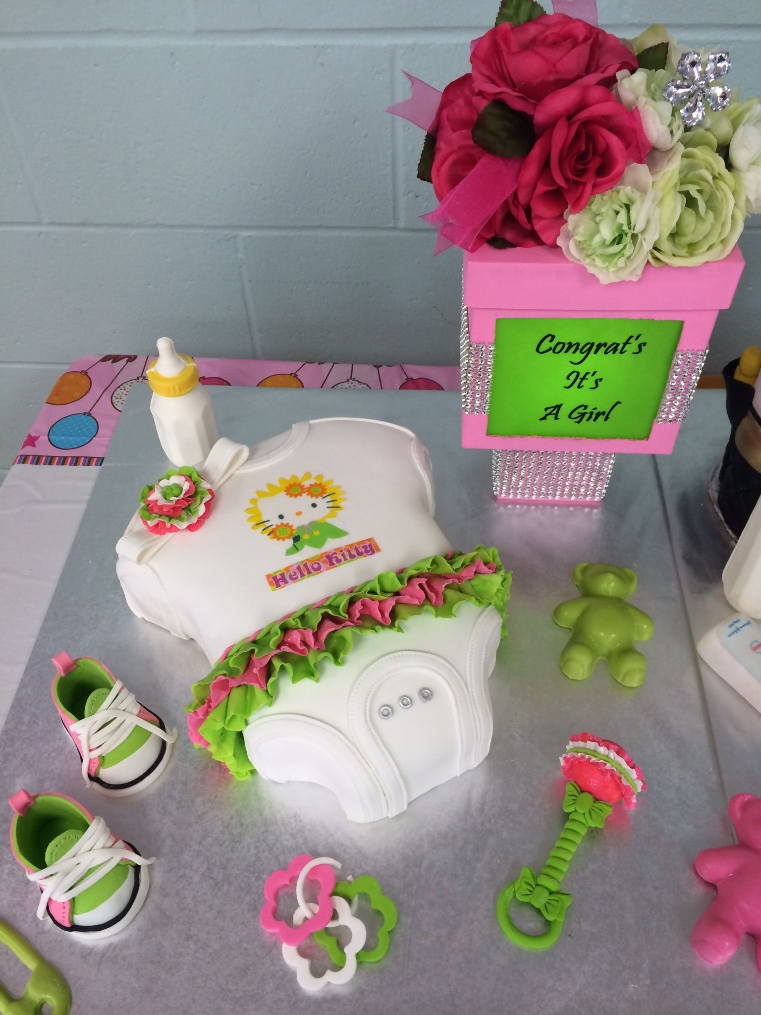 Hello Kitty Baby Shower CakeCentral