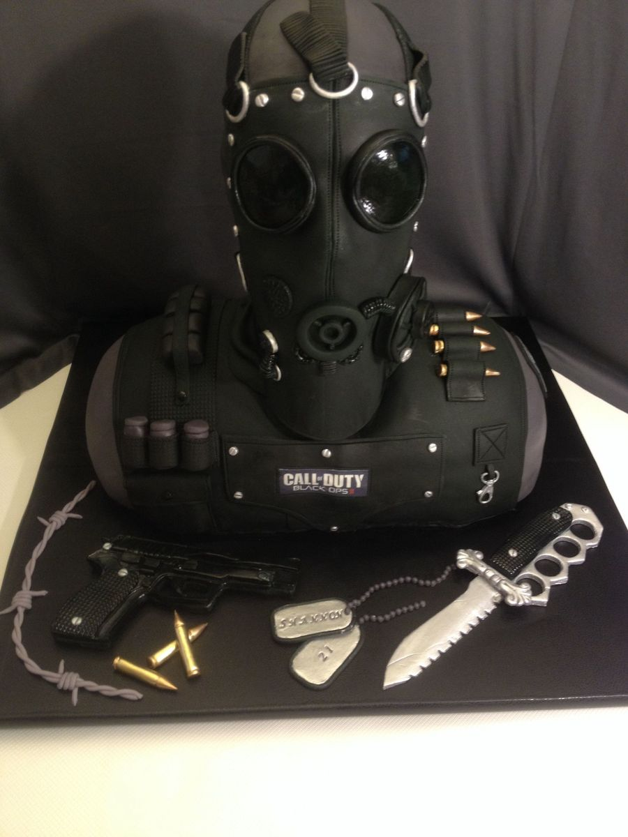 Call Of Duty Cake Made This For My Daughters Boyfriend And