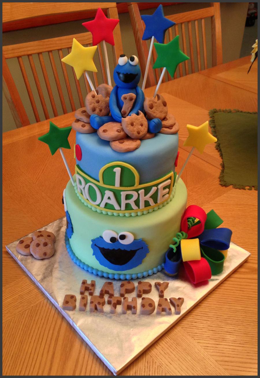Monster Themed St Birthday Cake