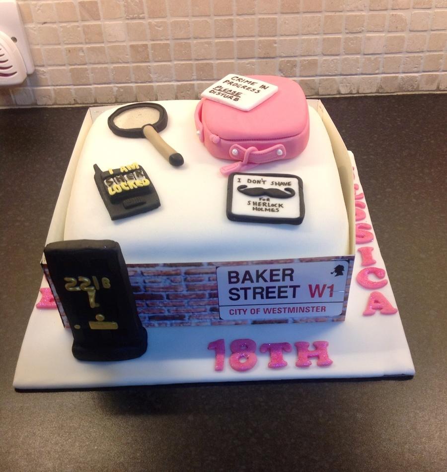 Sherlock Holmes Theme For Twin Girls 18Th Birthday