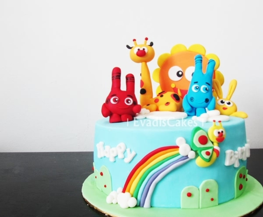 Baby Tv Characters Birthday Cake Another Happy Moments With Family And ...