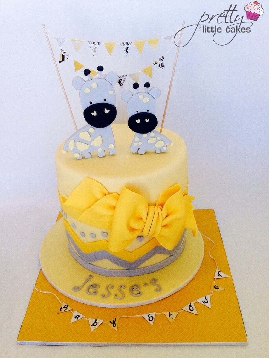 a beautiful baby shower cake xxx - cakecentral
