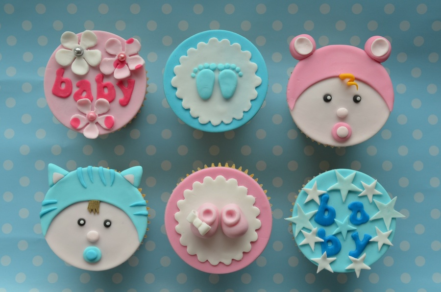 New Baby Cupcakes:) Xx on Cake Central