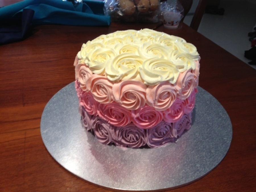 Strawberry Vanilla Swirl Cake