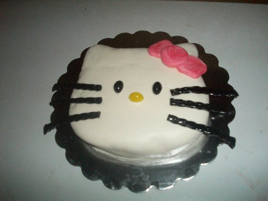 Hello Kitty Hand Carved 3D Cake on Cake Central