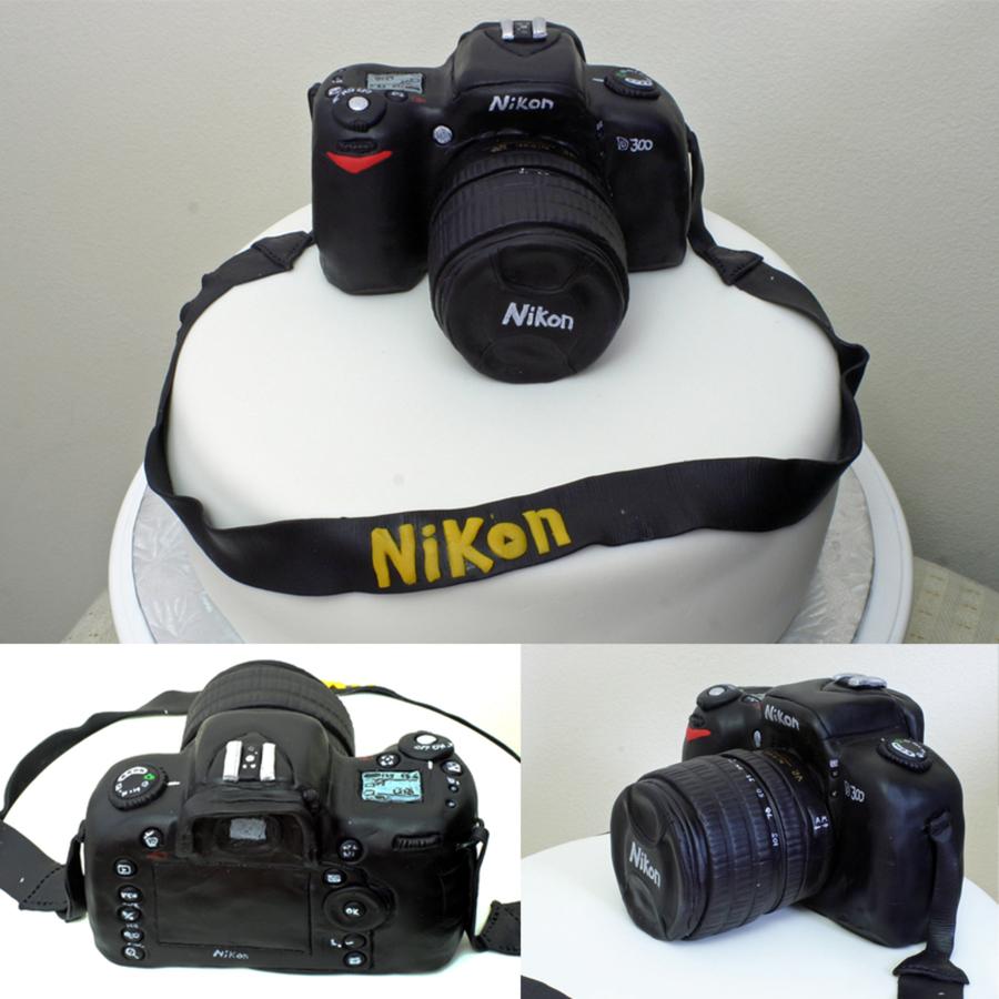Nikon Camera Cake Tutorial