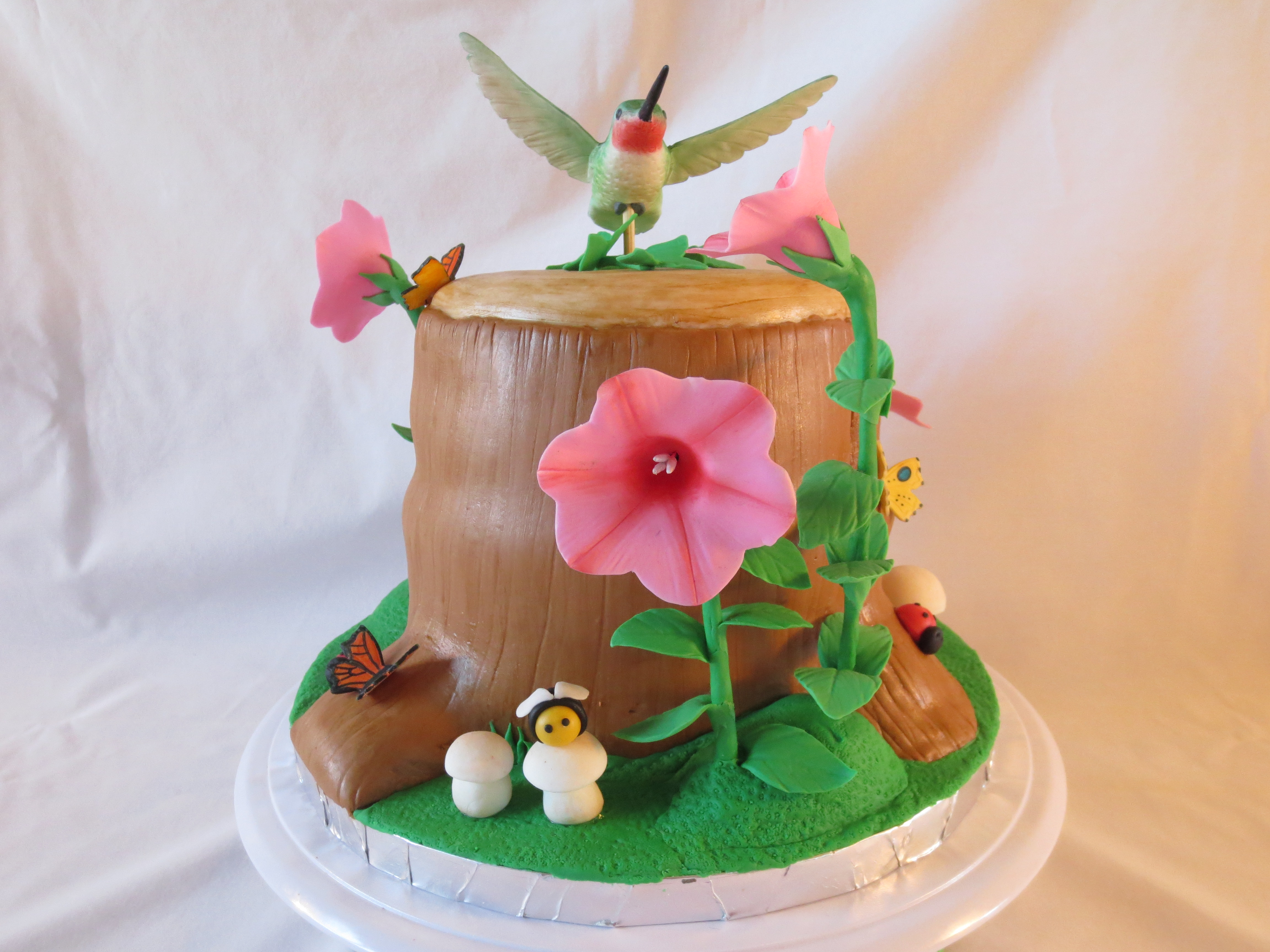 How To Get Cake Decorating Experience : A Hummingbird Cake For My Mother In Law Its German ...