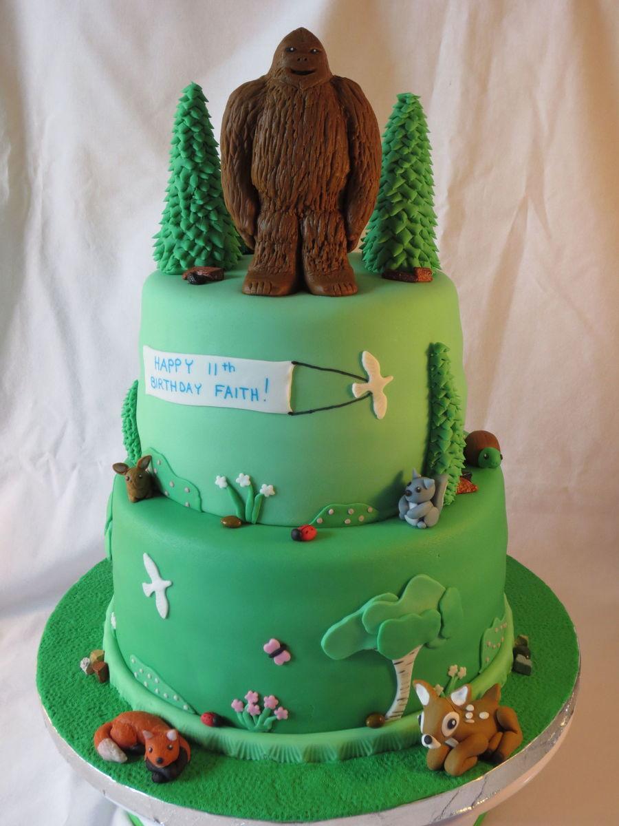 Bigfoot Cake Ideas
