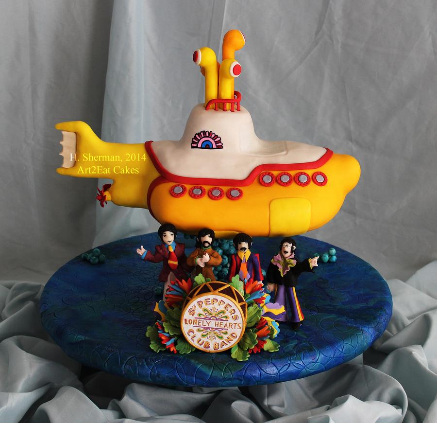 Yellow Submarine Cake Cakecentral Com