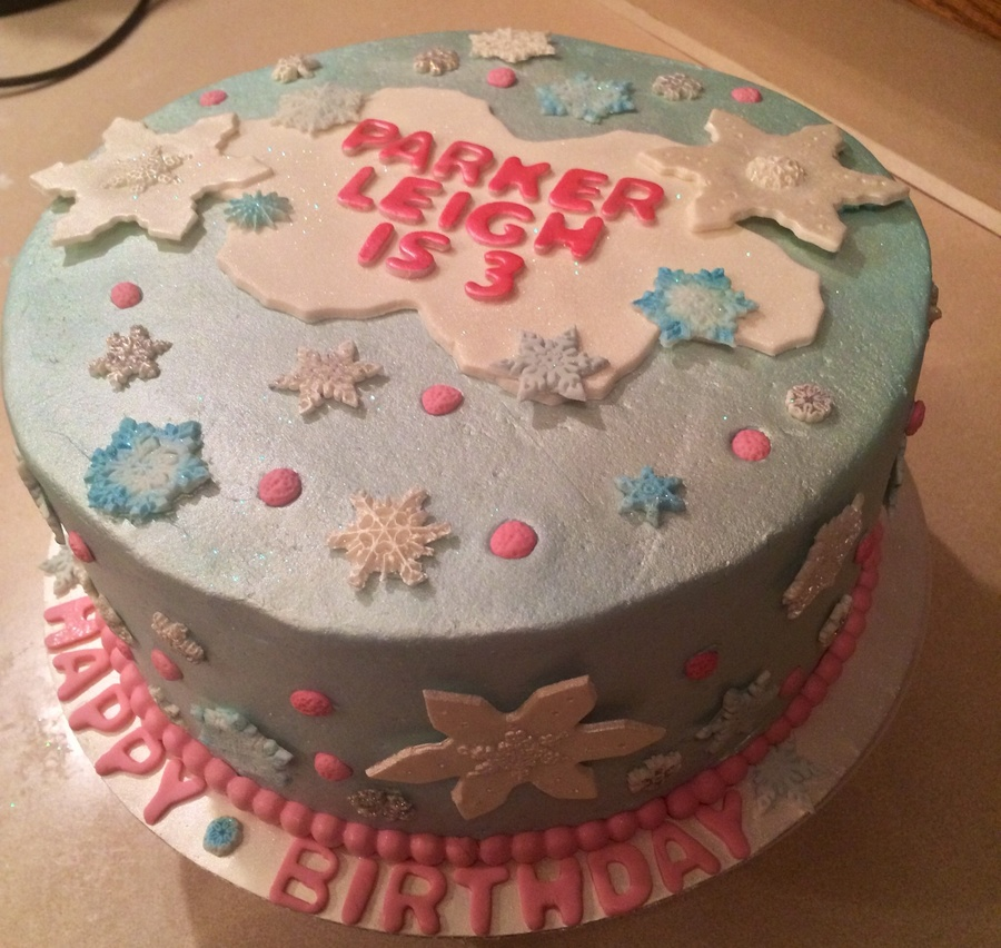 Fine The Client Wanted A Winter Theme Birthday Cake Without It Being A Funny Birthday Cards Online Elaedamsfinfo