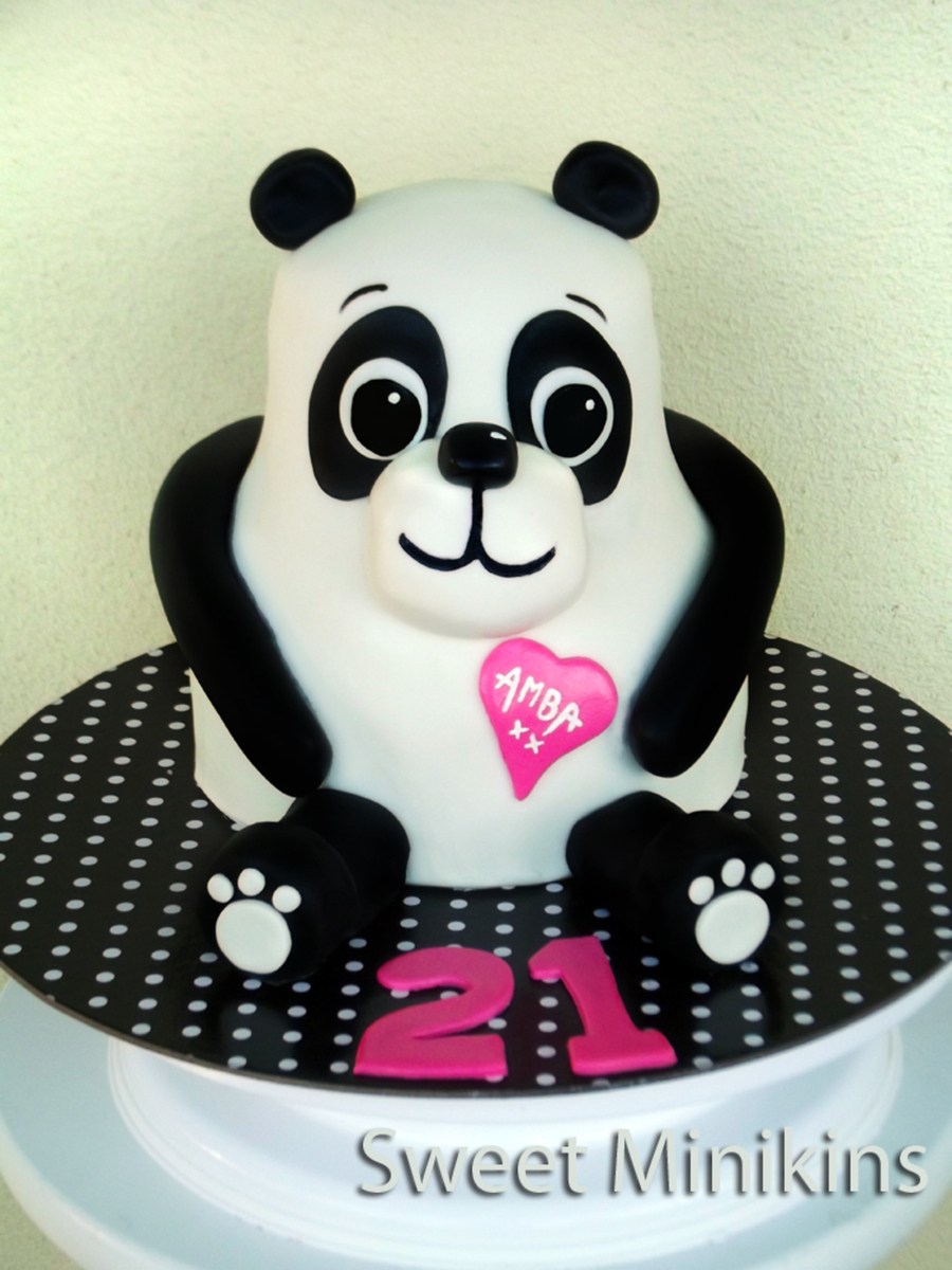 3d Panda Cake Cakecentral