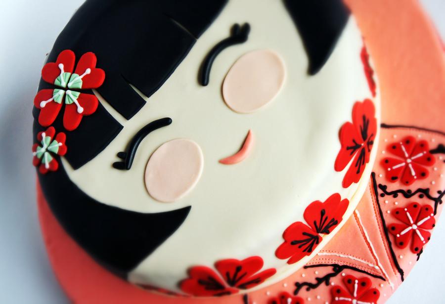 Japanese Girl Cake Cakecentral