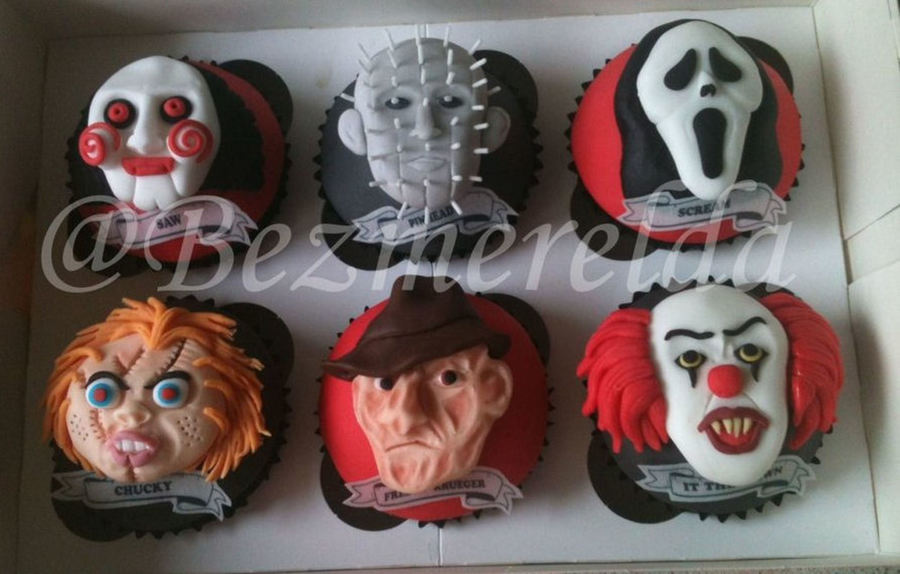 Halloween Horror Movie Character Cupcakes Cakecentral Com