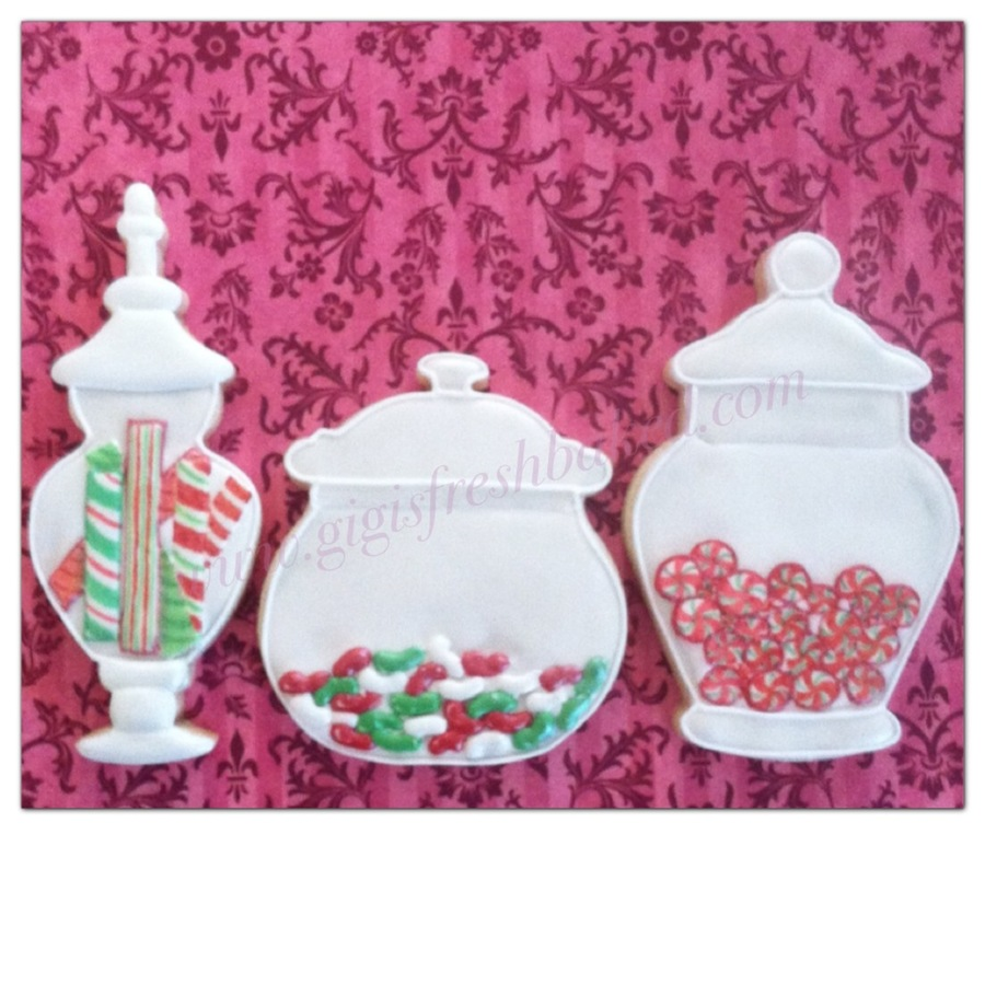 Christmas Candy Jar Cookies! on Cake Central