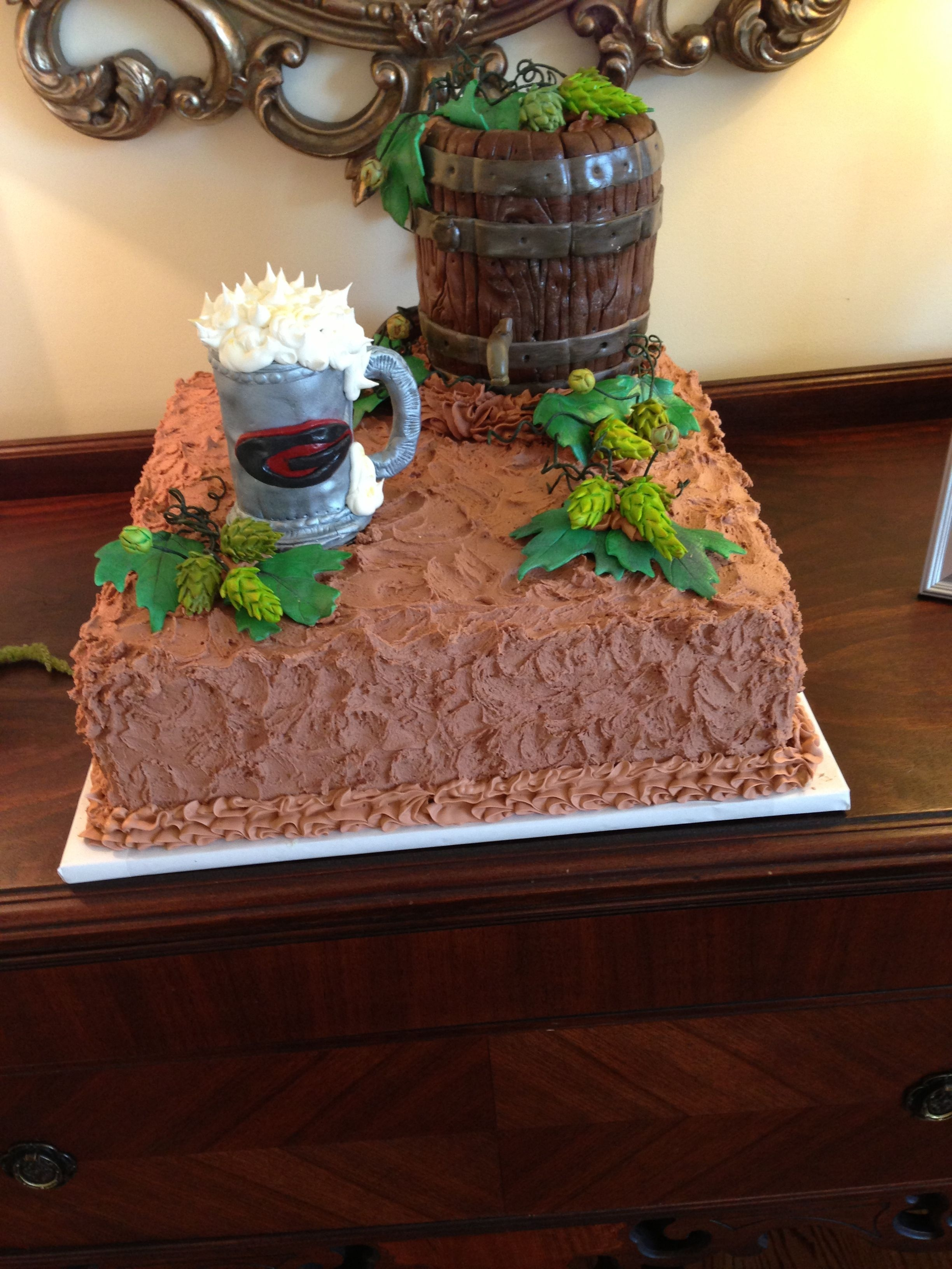 I Made This For A Wedding But It Could Be A Birthday Cake Also