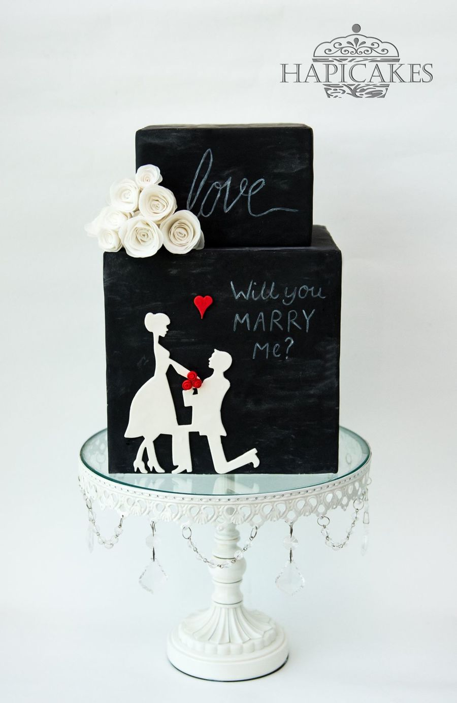 Proposal Love on Cake Central