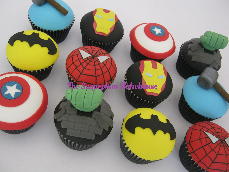 Marvel Dc Comic Cupcakes Cakecentral Com