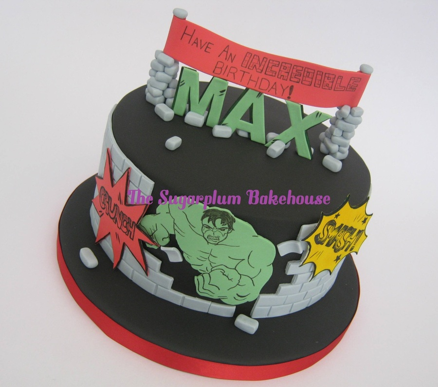 The Incredible Hulk Birthday Cake Cakecentral Com