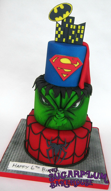 Marvel Comic Cake Ideas