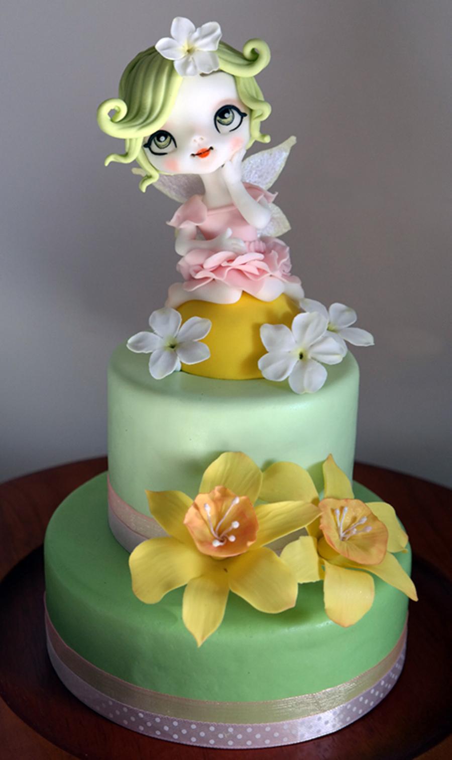 Little Fairy Flowers Piccola Fatina Dei Fiori Cakecentral Com