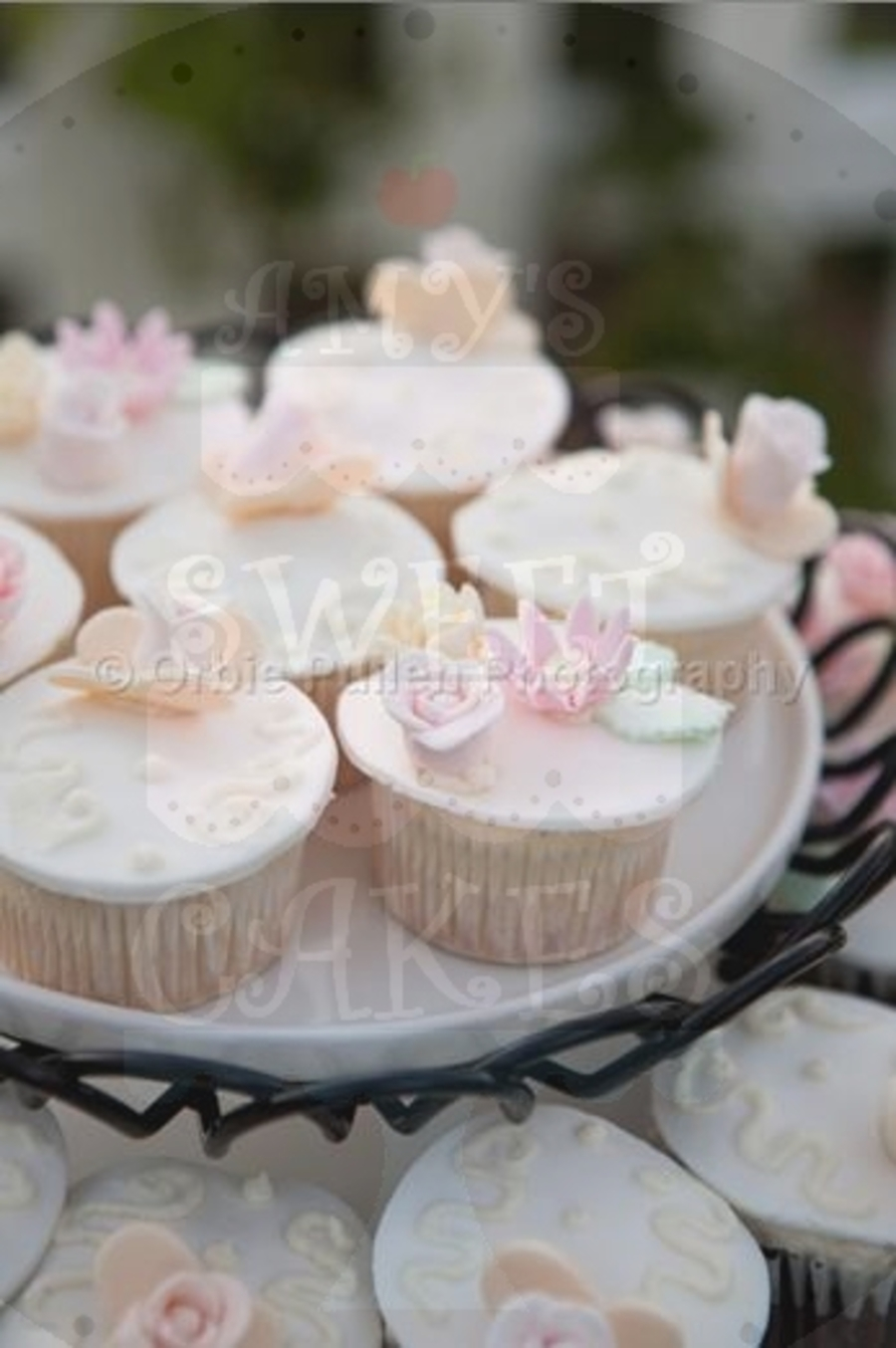 Wedding Cupcakes For A Summer Wedding - CakeCentral.com