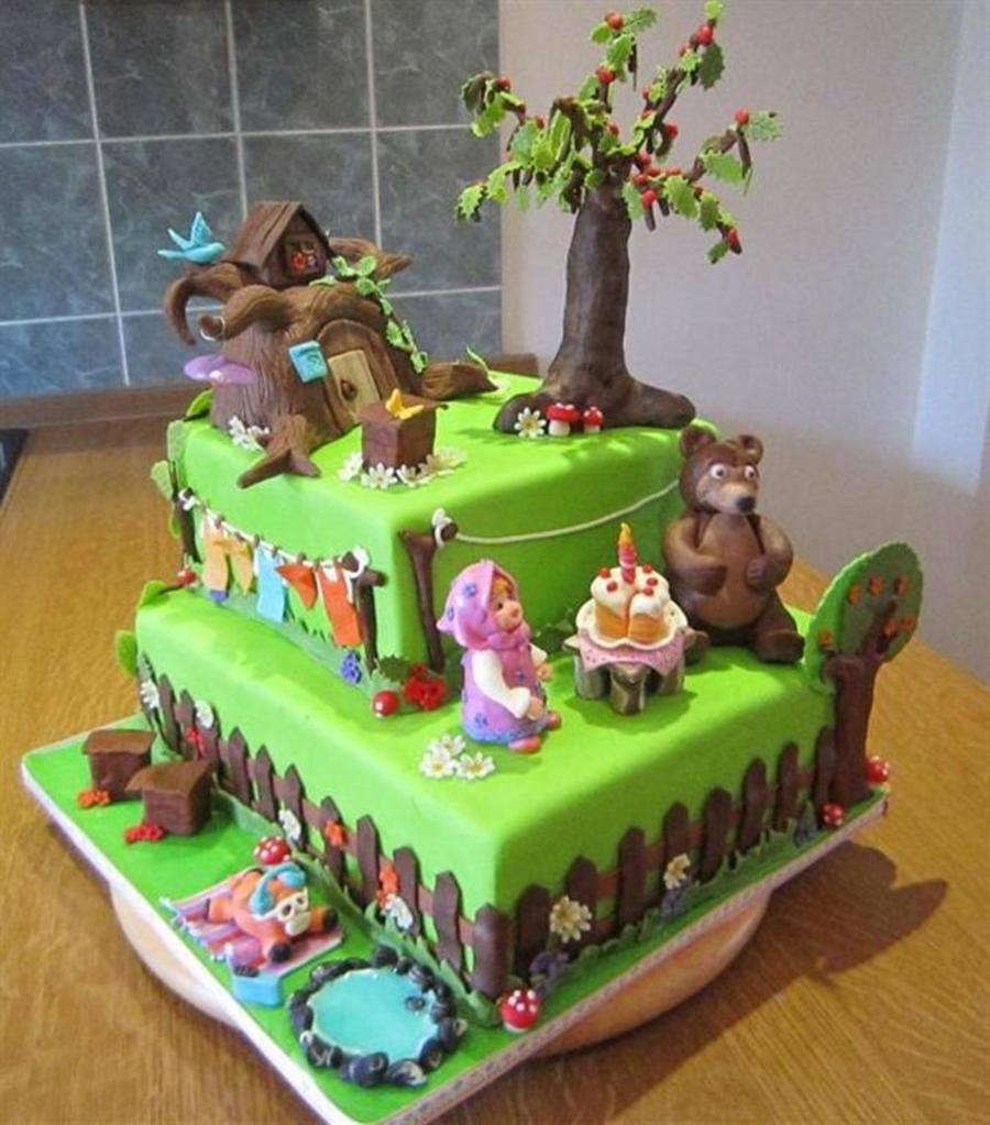 Masha And The Bear CakeCentralcom