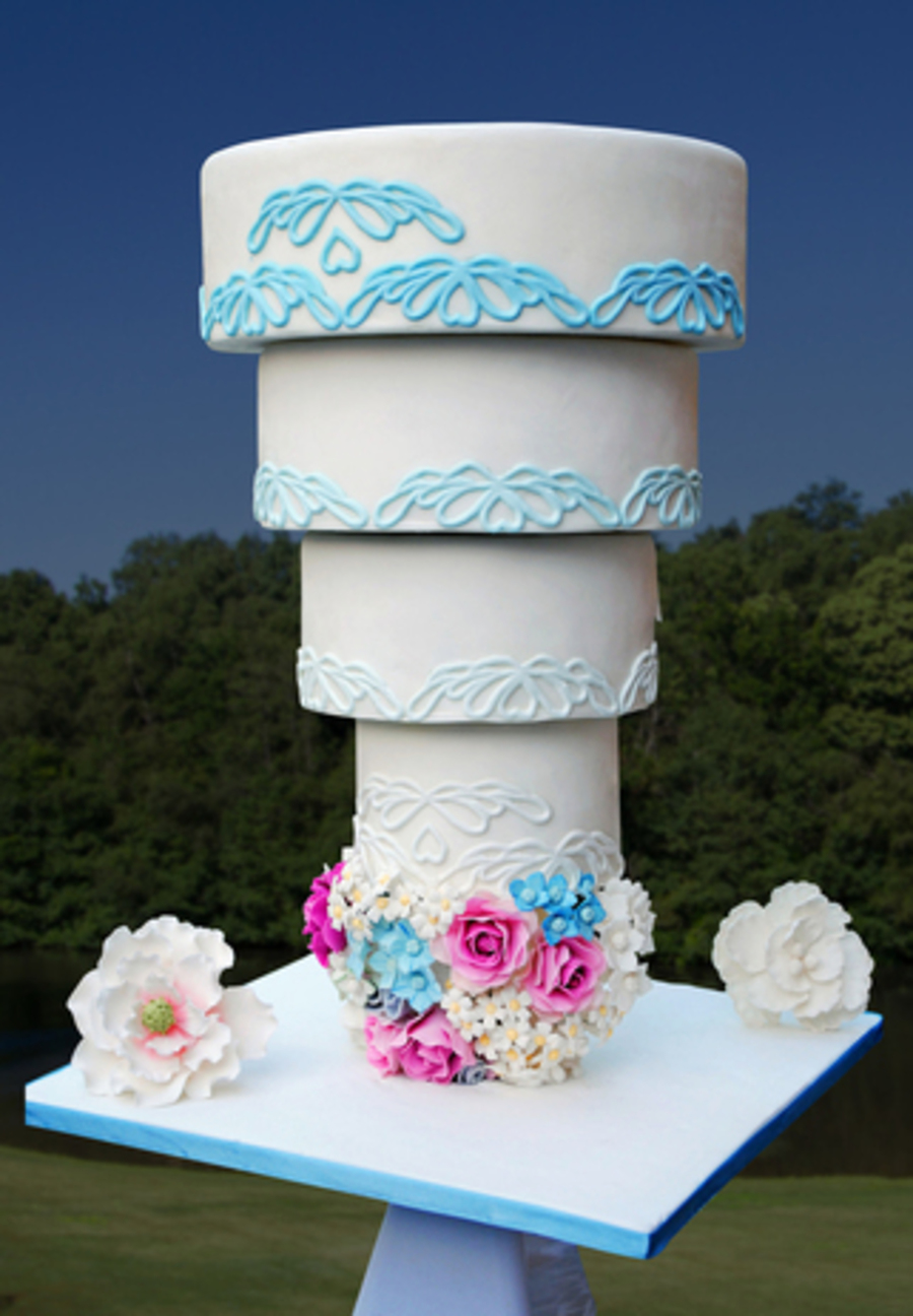 wedding cake upside down wedding cake by designer cakes of 26748