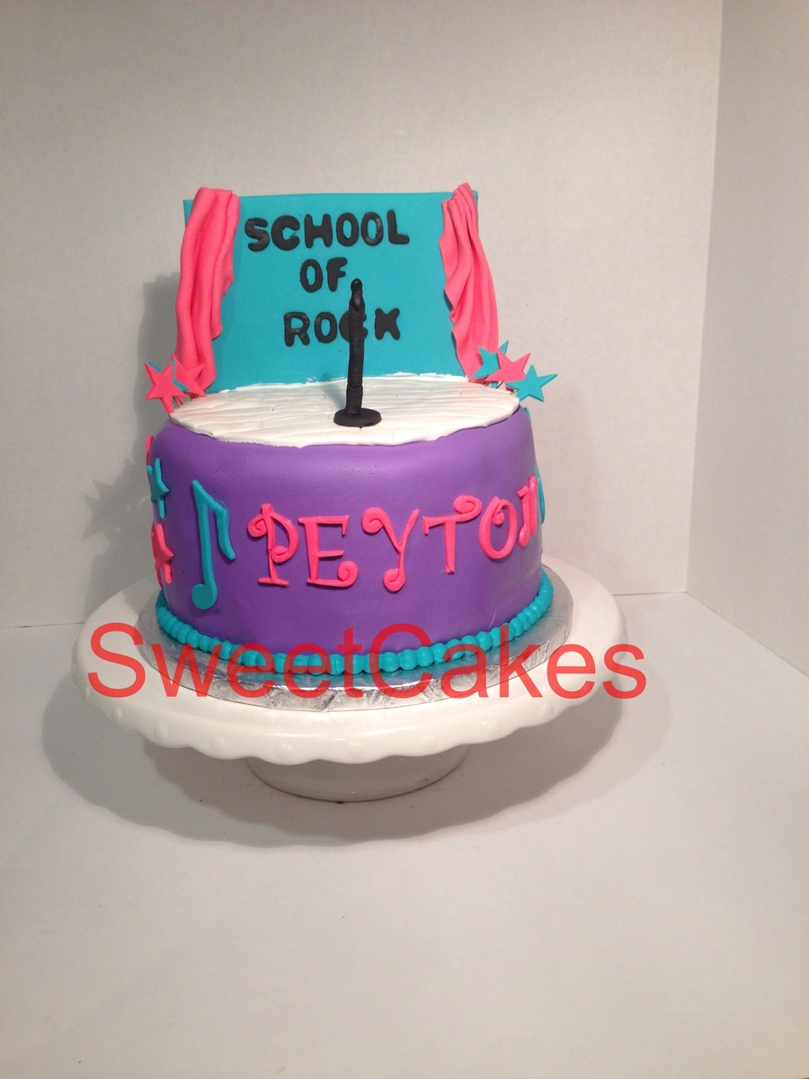 Kid Friendly Rock N Roll Themes on Cake Central