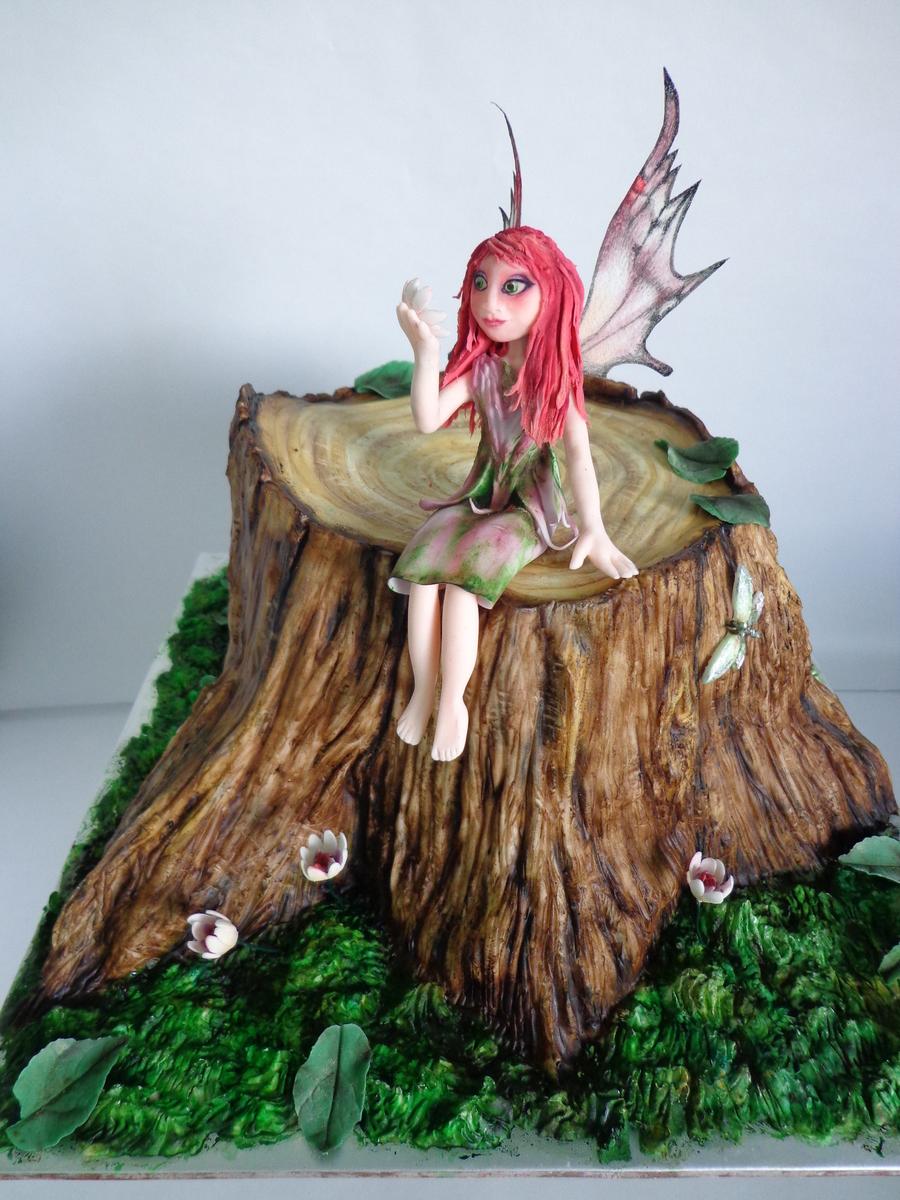 Woodland Fairy Cake - ...