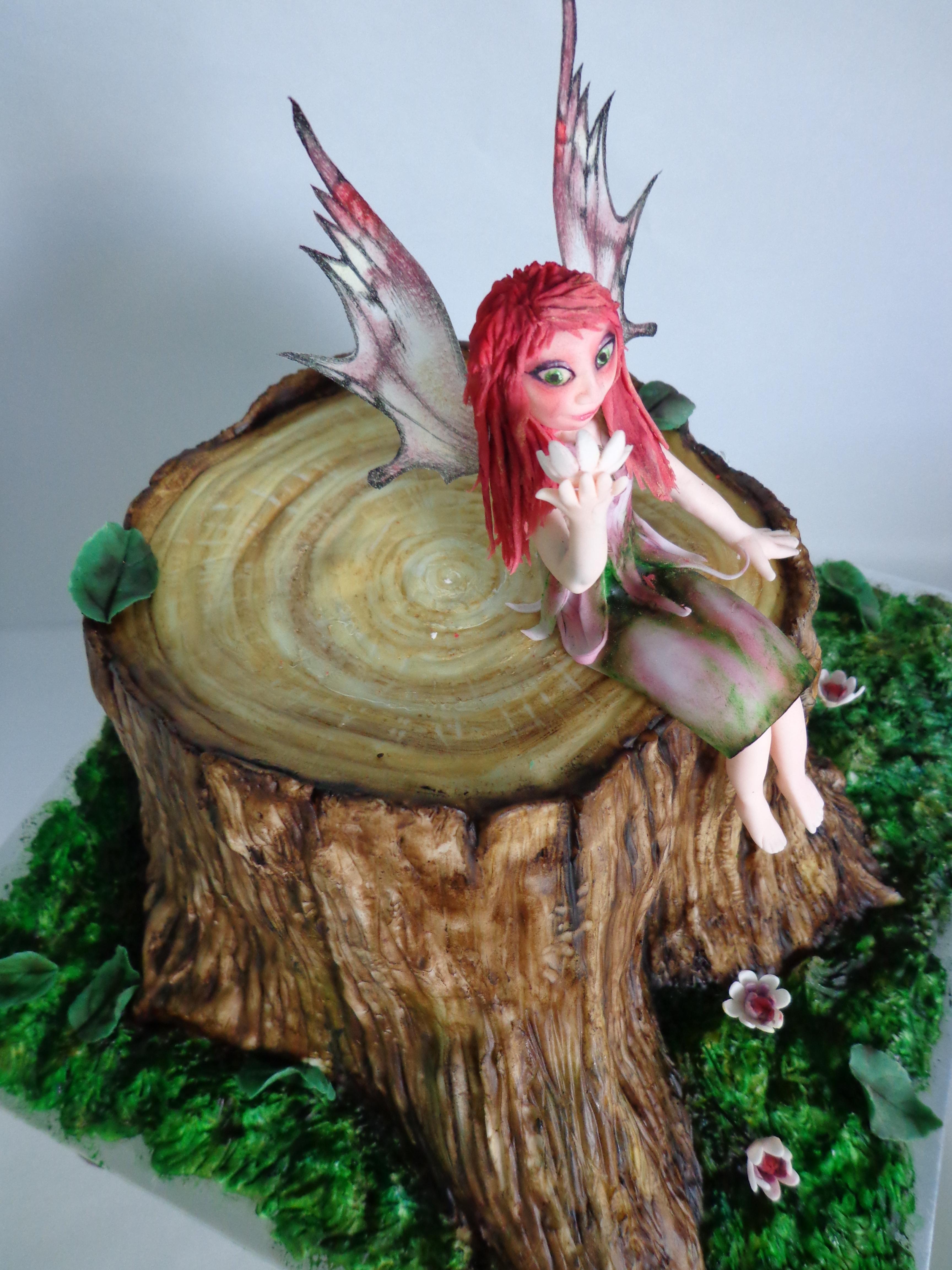 Woodland Fairy Cake - CakeCentral com
